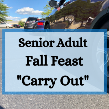 Sr Adult Fall Feast