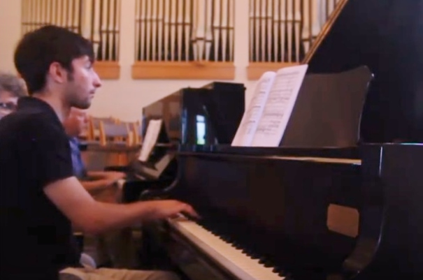 Piano duet for Tuneful Tuesdays
