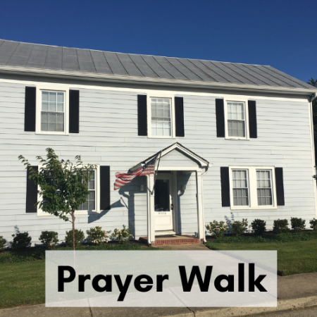 Hixon Hall Prayer Walk