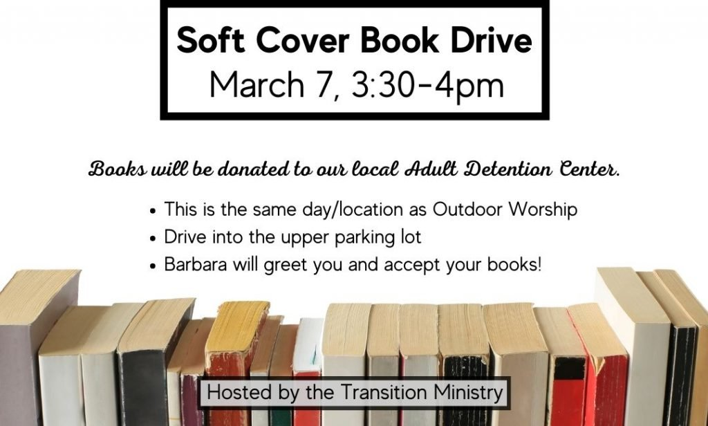 Soft Cover Book Drive